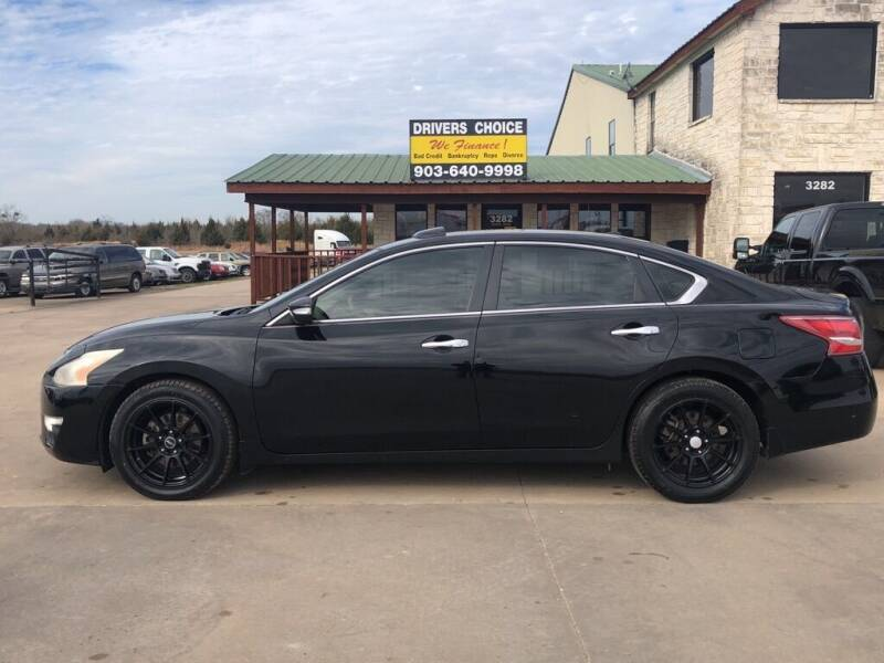 2013 Nissan Altima for sale at Driver's Choice in Sherman TX