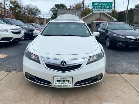2013 Acura TL for sale at Murrays Used Cars in Baltimore MD