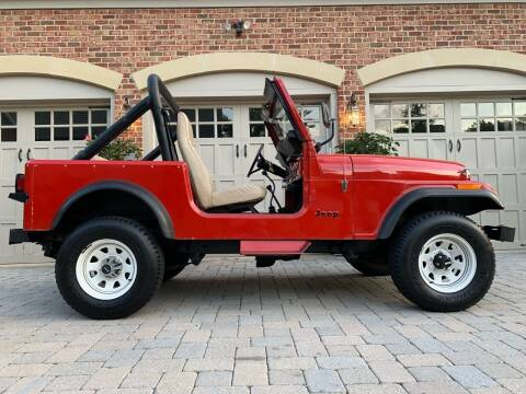 1985 Jeep CJ-7 for sale at AVAZI AUTO GROUP LLC in Gaithersburg MD