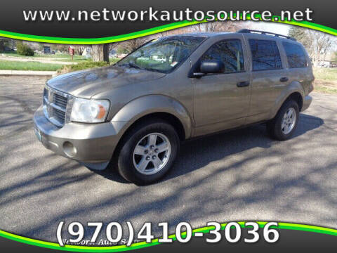 2007 Dodge Durango for sale at Network Auto Source in Loveland CO