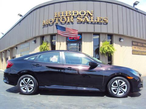 2016 Honda Civic for sale at Hibdon Motor Sales in Clinton Township MI