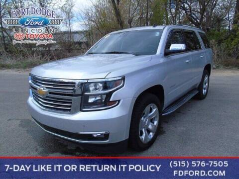 2015 Chevrolet Tahoe for sale at Fort Dodge Ford Lincoln Toyota in Fort Dodge IA