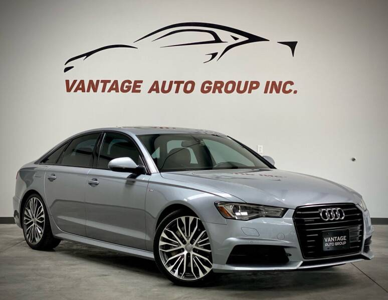 2016 Audi A6 for sale at Vantage Auto Group Inc in Fresno CA