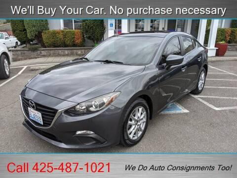 2014 Mazda MAZDA3 for sale at Platinum Autos in Woodinville WA