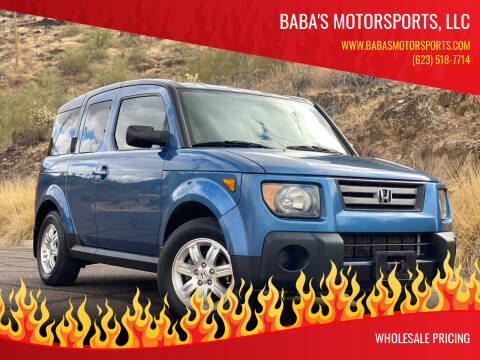 2007 Honda Element for sale at Baba's Motorsports, LLC in Phoenix AZ