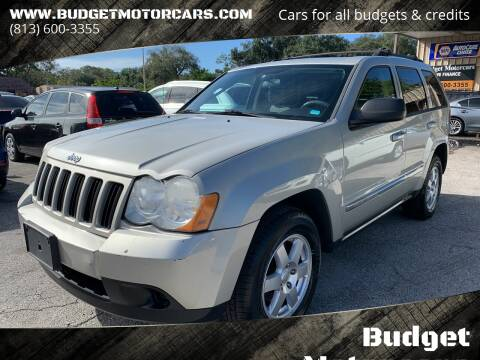 2010 Jeep Grand Cherokee for sale at Budget Motorcars in Tampa FL