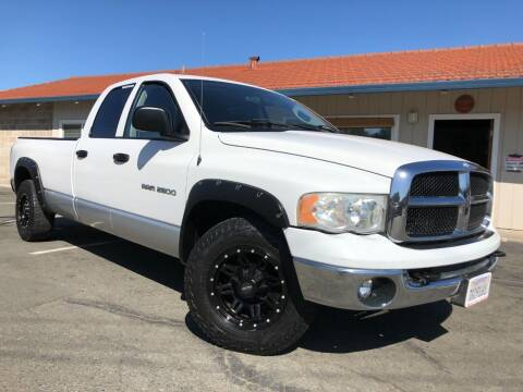 2003 Dodge Ram Pickup 2500 for sale at Martinez Truck and Auto Sales in Martinez CA