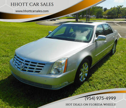 2008 Cadillac DTS for sale at HHOTT CAR SALES in Deerfield Beach FL