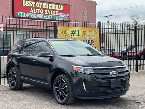 2014 Ford Edge for sale at Best of Michigan Auto Sales in Detroit MI