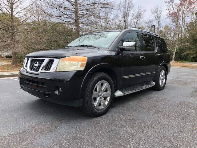 2010 Nissan Armada for sale at Lowcountry Auto Sales in Charleston SC