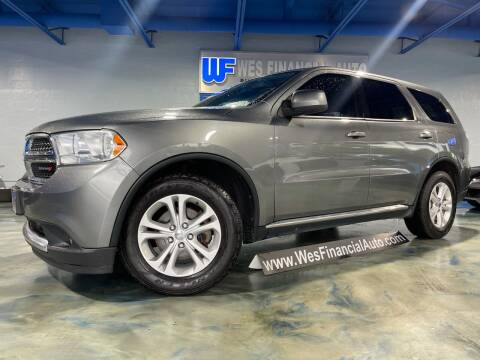 2013 Dodge Durango for sale at Wes Financial Auto in Dearborn Heights MI