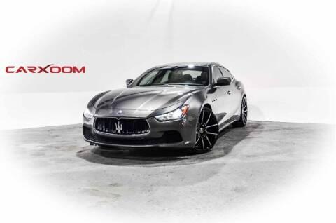 2014 Maserati Ghibli for sale at CarXoom in Marietta GA