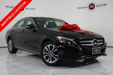 2018 Mercedes-Benz C-Class for sale at INDY'S UNLIMITED MOTORS - UNLIMITED MOTORS in Westfield IN