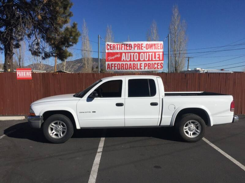 2002 Dodge Dakota for sale at Flagstaff Auto Outlet in Flagstaff AZ