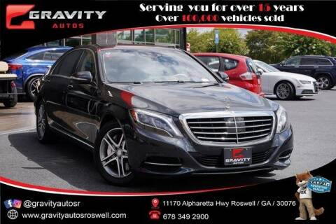 2016 Mercedes-Benz S-Class for sale at Gravity Autos Roswell in Roswell GA