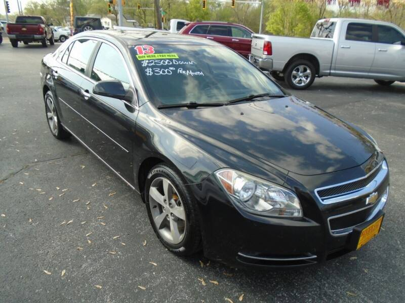 2012 Chevrolet Malibu for sale at River City Auto Sales in Cottage Hills IL