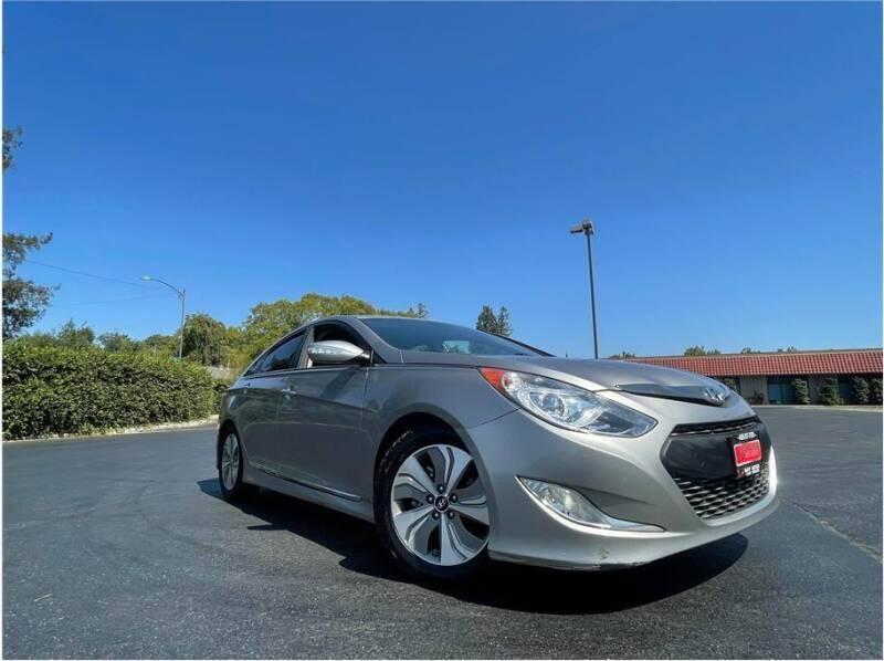 2013 Hyundai Sonata Hybrid for sale at BAY AREA CAR SALES in San Jose CA