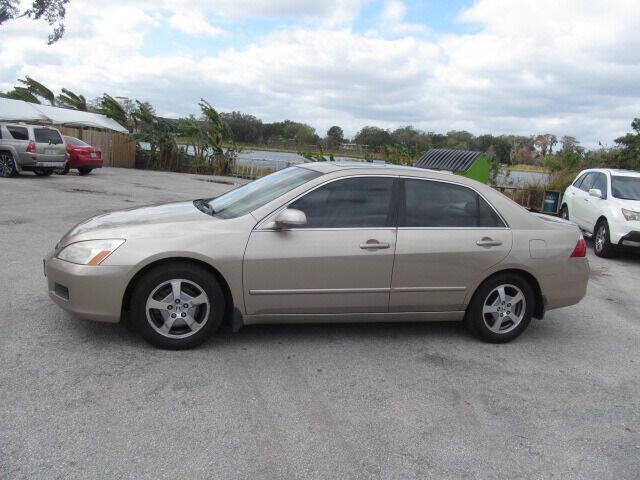 2006 Honda Accord for sale at Orlando Auto Motors INC in Orlando FL