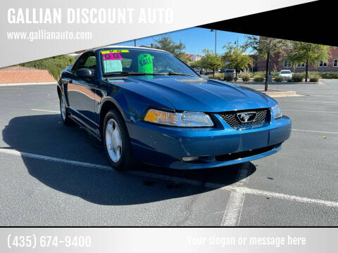 2000 Ford Mustang for sale at GALLIAN DISCOUNT AUTO in Saint George UT