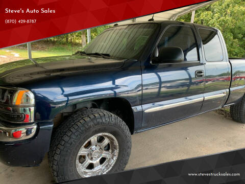 2005 GMC Sierra 1500 for sale at Steve's Auto Sales in Harrison AR