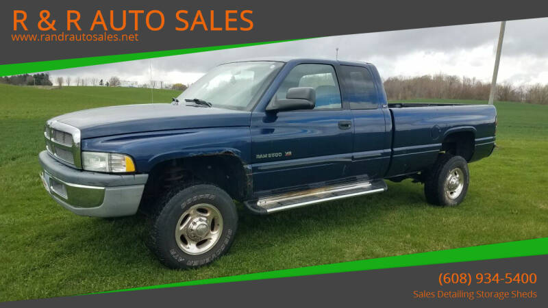 2002 Dodge Ram Pickup 2500 for sale at R & R AUTO SALES in Juda WI