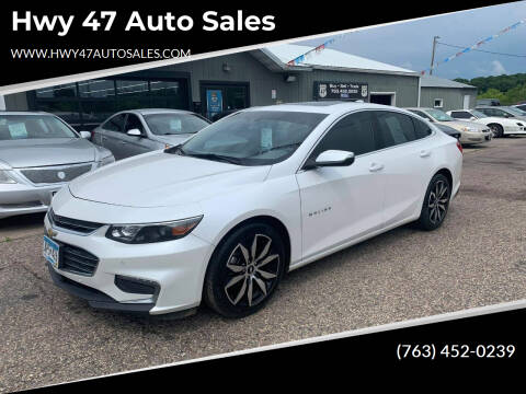 2017 Chevrolet Malibu for sale at Hwy 47 Auto Sales in Saint Francis MN