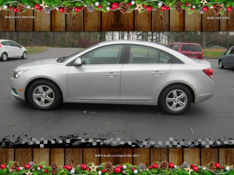 2013 Chevrolet Cruze for sale at Barclay's Motors in Conover NC