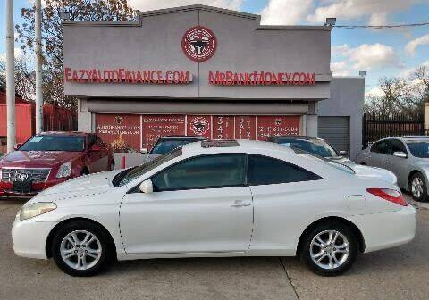2008 Toyota Camry Solara for sale at Eazy Auto Finance in Dallas TX