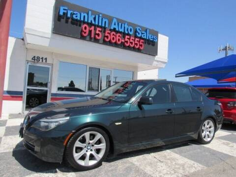 2009 BMW 5 Series for sale at Franklin Auto Sales in El Paso TX