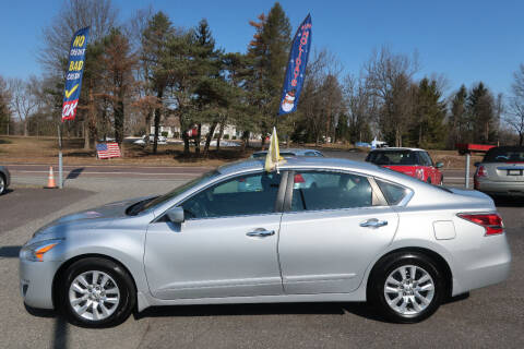 2015 Nissan Altima for sale at GEG Automotive in Gilbertsville PA