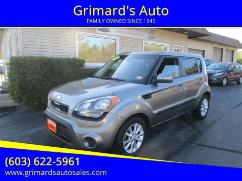 2013 Kia Soul for sale at Grimard's Auto in Hooksett NH