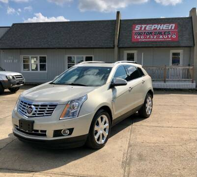 2016 Cadillac SRX for sale at Stephen Motor Sales LLC in Caldwell OH