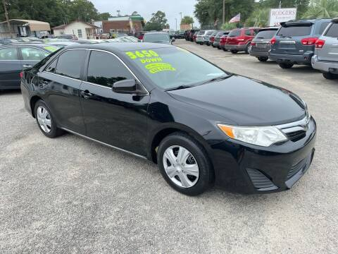 2013 Toyota Camry for sale at Rodgers Enterprises in North Charleston SC