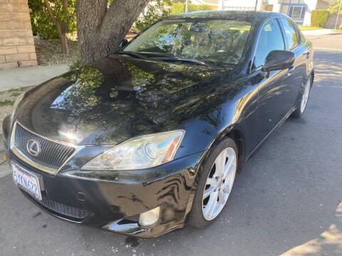 2007 Lexus IS 250 for sale at Fiesta Motors in Winnetka CA