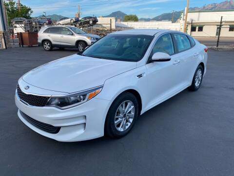 2016 Kia Optima for sale at New Start Auto in Richardson TX