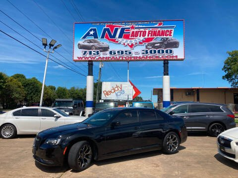 2016 Chrysler 300 for sale at ANF AUTO FINANCE in Houston TX
