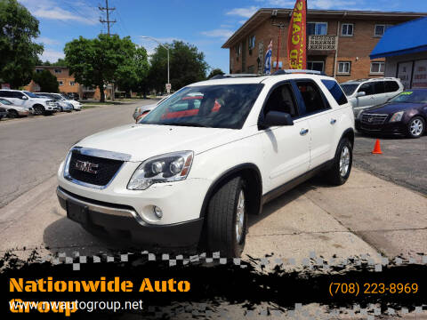2011 GMC Acadia for sale at Nationwide Auto Group in Melrose Park IL