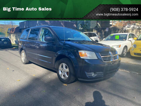 2008 Dodge Grand Caravan for sale at Big Time Auto Sales in Vauxhall NJ