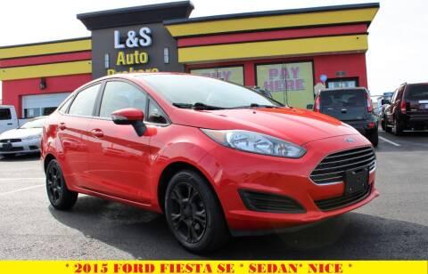 2015 Ford Fiesta for sale at L & S AUTO BROKERS in Fredericksburg VA