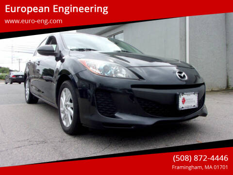 2013 Mazda MAZDA3 for sale at European Engineering in Framingham MA