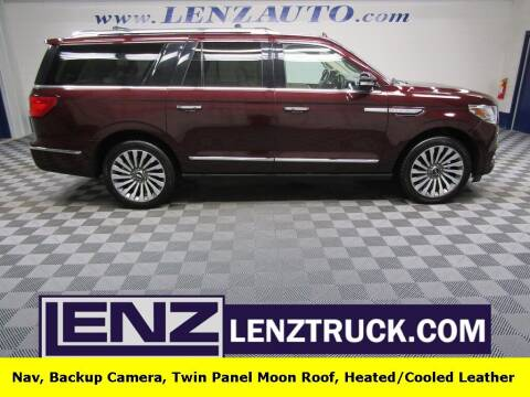 2018 Lincoln Navigator L for sale at LENZ TRUCK CENTER in Fond Du Lac WI