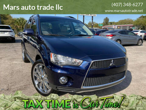 2012 Mitsubishi Outlander for sale at Mars auto trade llc in Kissimmee FL