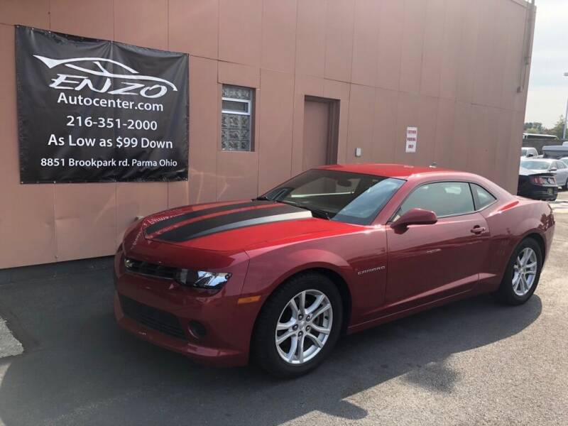2015 Chevrolet Camaro for sale at ENZO AUTO in Parma OH