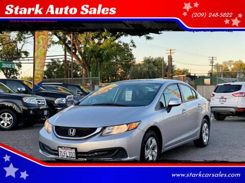 2013 Honda Civic for sale at Stark Auto Sales in Modesto CA
