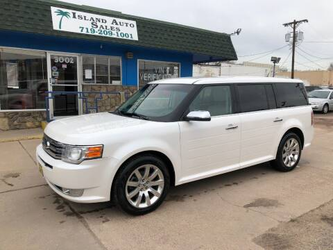 2010 Ford Flex for sale at Island Auto Sales in Colorado Springs CO