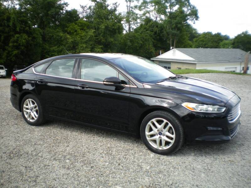 2016 Ford Fusion for sale at Starrs Used Cars Inc in Barnesville OH