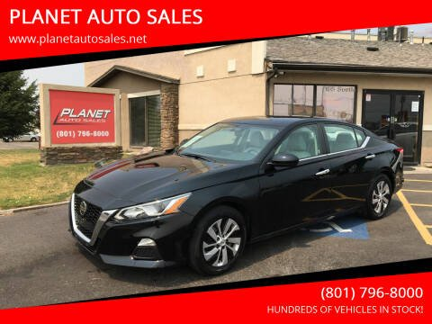 2020 Nissan Altima for sale at PLANET AUTO SALES in Lindon UT