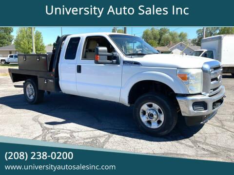 2011 Ford F-250 Super Duty for sale at University Auto Sales Inc in Pocatello ID