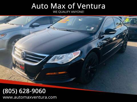 2011 Volkswagen CC for sale at Auto Max of Ventura in Ventura CA