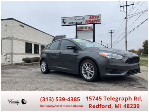 2017 Ford Focus for sale at The Family Auto Finance in Redford MI